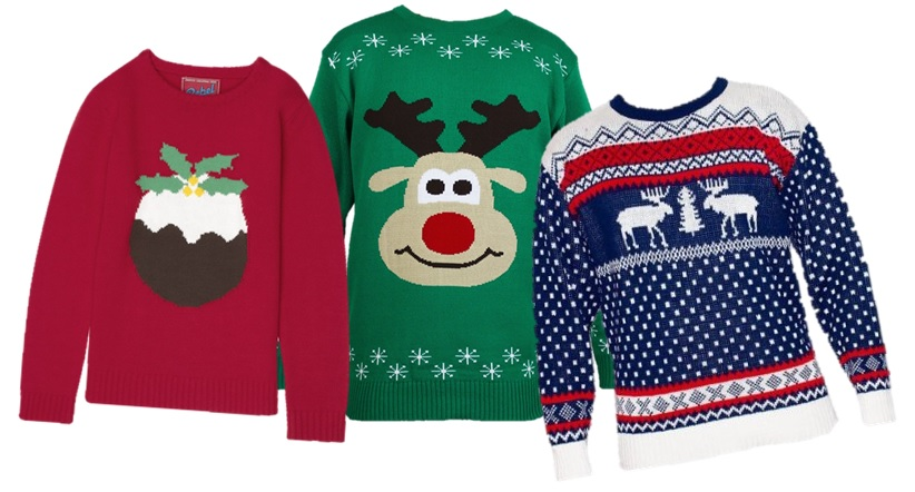 Cinio Nadolig a Siwmperi Nadolig / Christmas Dinner and Christmas Jumpers